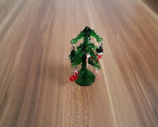 6X Weihnachtsbaum Mini Zeder Ornamente Party Puppenhaus Miniatur DekorTPI YR
