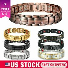 Magnetic Health Bracelet Carpal Tunnel Arthritis Bio Therapy Chronic Pain Relief