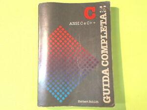 GUIDA COMPLETA C ANSI C E C++ SCHILDT MC GRAW HILL