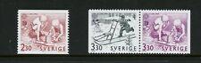 S802  Sweden 1989  Children's games  Europa   3v.     MNH