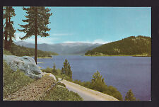 vintage 76 Union Oil Huntington Lake Norteast of Fresno California postcard