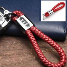 RED Audi Key Ring Key Chain Car Key Holder a1 a2 a3 a4 q7 s line