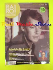 rivista RARO 250/2013  Inserto Patty Pravo Fabrizio De Andre' Miguel Bose' No cd