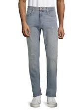 J Brand Mens Light Blue Hawking Tyler Slim Fit Distressed Jeans 33x34