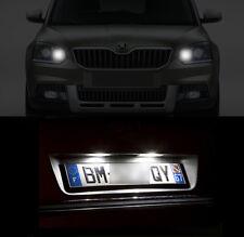 4 ampoules à LED éclairage blanc veilleuses + feux de plaque pour Skoda Yeti Ph2