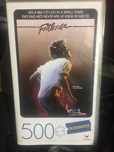 BLOCKBUSTER FOOTLOOSE Jigsaw Puzzle - 500 PIECES (45 x 60cm) BRAND NEW