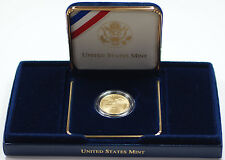 2001 Capitol Visitor Center UNC $5 Gold Five Dollar Commem Coin w Box & COA DGH