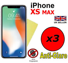 3x HQ ANTI GLARE MATTE SCREEN PROTECTOR COVER FILMS FOR APPLE IPHONE XS MAX