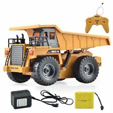 Huina 1540 Metal Dump Truck Toy Charging 1:12, With 6 Channel RC Remote Control
