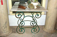 Bäckertisch Tisch Barock Küchentisch Ladentisch Tischchen Metzgertisch Konsole 2