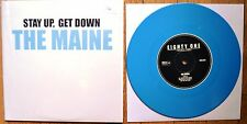 """The Maine - Stay Up Get Down Vinyl EP 7"""" /750 Blue New"""