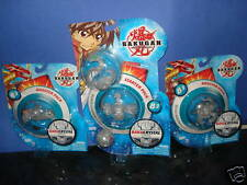 Bakugan Lot 5 Bakucrystal Clear  Abis Omega, Fox Bat - Rare!