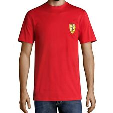 tee-shirt écusson FERRARI rouge taille L - neuf