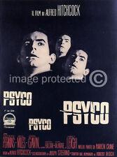 Hitchcock Horror Movie Poster Italian Psycho -24x36