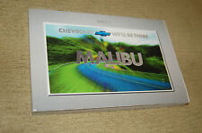 Owner's Manual Booklet for 2001 Chevrolet Malibu OEM Excellent Condition