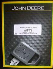 John Deere Schlepper 3040 + 3140 Betriebsanleitung
