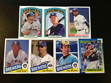 2013 Topps Archives Milwaukee Brewers Base Team set 7