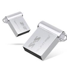 32GB Mini Pen Drive Key USB Thumb Flash Drive U Disk Metal / Ultra Compact