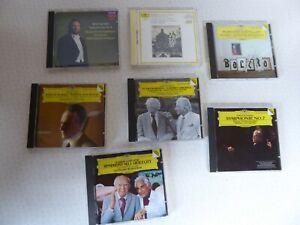Job Lot 7 West Germany Full Silver Disc Classical CDs Decca Deutsche Grammophon