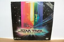 More details for star trek the motion picture double  laser disc rare