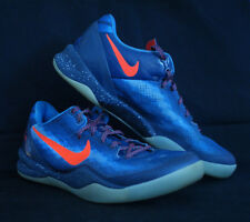 Nike Kobe 8 System Blitz Blue Low Basketball Sneakers Sz 9.5 555035-401!