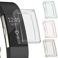 Ultrathin Silicone TPU Full Protective Case Cover For Fitbit Charge 2 Bracelet