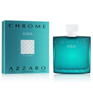 Chrome Aqua by Azzaro EDT Spray 100ml For Men