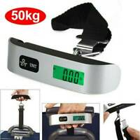 50kg Portable Hanging Digital Electronic Suitcase Luggage Weighing Scales