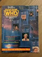 Doctor Who 20th Anniversary Radio Times Special Edition Magazine 1983