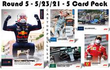 2021 F1 5 Card Set 10 11 12 13 14 Topps Now Formula 1 Verstappen Norris Sainz