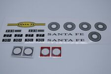 Custom Lego 10020 Santa Fe Super Chief Replacement Sticker & Portholes Cut Vinyl