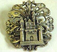 Silvertone Scarf Clip Jewelry Beautiful Vintage Coro Castal