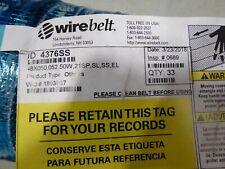 WireBelt 4376SS Wire Conveyor Belt 48 x 050, 50W