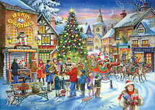 House Of Puzzles - 500 PIECE JIGSAW PUZZLE - Christmas Shopping Collectors No 6