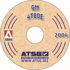 ATSG Tech Manual 4T80E 4T8OE 93-On GM Cadillac Northstar Oldsmobile Guide Book