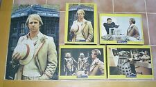 Set of 4 1982 DOCTOR WHO Waddington Jigsaw Puzzles Peter Davison Daleks Cybermen