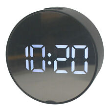 LED Digital Alarm Clock Battery Operated Only Small for Bedroom/Wall