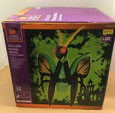 Praying Mantis Insect Led Projection Airblown Inflatable Gemmy Giant Size Bug