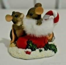 Charming Tails Stocking Stuffers Figurine by Fitz and Floyd 97/27 Dean Griff