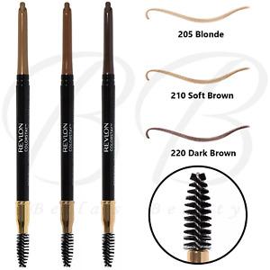 REVLON Colorstay Long Lasting Eyebrow Pencil with Spoolie Brush *CHOOSE SHADE*