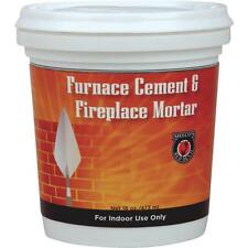 12-Meeco´s Red Devil 1/2 Pt. Gray Furnace Stove Cement & Fireplace Mortar 1352