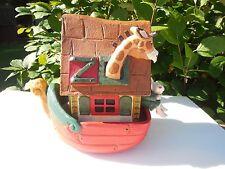 Noah's Arc Denise Calla  House of Hatten 1994 Noah Boat Ship Giraffe
