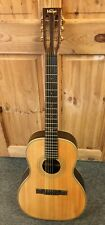 Vintage Paul Brett Signature Acoustic Guitar with Hard Case  (VE8000PB)
