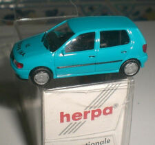 HERPA SPECIAL PETIT VOITURE VOLKSWAGEN VW POLO IAA 2012 ECHELLE 1:87 HO NEUF OVP