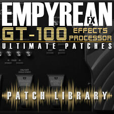 Boss GT-100 Ultimate Patches Guitar Multi-Effects Presets