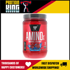 BSN AMINO X 435G 30 SERVE BLUE RAZZ BCAA AMINOS RECOVERY INTRA WORKOUT BPI BSC