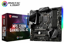 MSI MPG Z390M GAMING EDGE AC Socket LGA1151 Intel Z390 Micro-ATX Motherboard