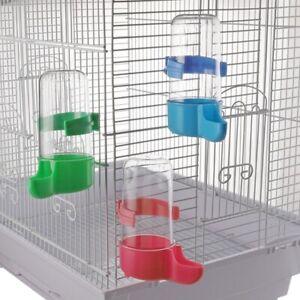 Xuniu Pigeons Water Feeder Loro Colgando Bebedero para p/ájaros Jaula de Agua Dispensador de Agua