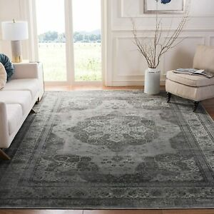 VTG158 VINTAGE Traditional Area Rug, Grey 160 x 230cm  Safavieh
