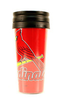 St. Louis Cardinals 14oz Team Travel Tumbler Acrylic Coffee Mug No Spill Lid